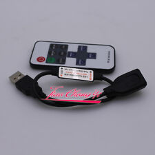 Mini USB 5V RF Wireless LED Controller Dimmer Remote Control For USB LED String