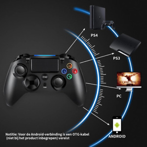 Elite Controller For PS4, PS3, PC |Wireless Bluetooth Gamepad With Back Buttons