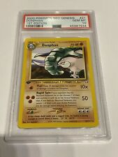 Pokemon Donphan  Neo Genesis First Edition PSA 10