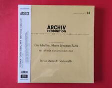 Enrico Mainardi-Bach Cello Suites BWV 1007~1012 180Gram 4 LP BOX SET SEALED