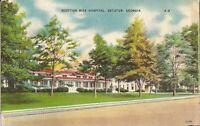 Decatur, GEORGIA - Scottish Rite Hospital - 1946 - LINEN - Masons