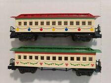 2 Bachmann Spirit Of Christmas N Scale Passenger Cars