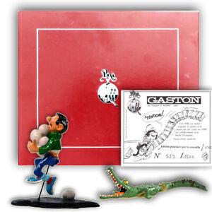 Pixi Gaston Lagaffe – Franquin - Gaston poursuivi par le crocodile Ref 4742