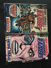 CAPT. SAVAGE AND HIS LEATHERNECK RAIDERS   #1 & #4  6.5 FN+   ~SGT FURY~    1968