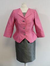 Carla Ruiz Mother Of THe Bride Dress Suit - Pink & Grey - Size 8-10 - Box64 12 F