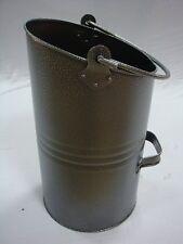 Ellipse Coal Hod Bucket Scuttle HAMMERITE Iron Durable Modern 16'' Inglenook Coa
