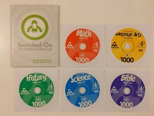 Switched on Schoolhouse 10th Grade CD Set! Windows 10