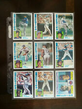 1984 Topps New York Mets Team Set 29 cards including #182 Darryl Strawberry RC
