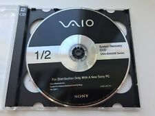 SONY VAIO VGN-BX500B Series System Recovery Discs (2xDVD)