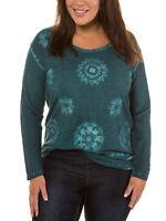 Shirt Longshirt Bluse Tunika petro Ulla Popken 50 52 54 56 58 60 62 64