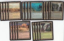 20 Card Sacrifice Land Lot - Odyssey  - NM/SP -4x of each - Sets - Magic MTG FTG