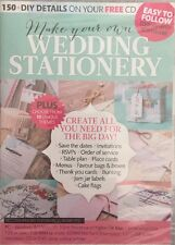 Make Your Own Wedding Stationery CD DVD Brand New Sealed Free Shipping