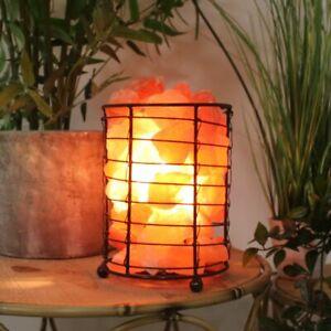 Widdop Himalayan Basket of Salt Rock Lamp - Home Living Lighting Accessory