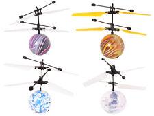 Heli Ball RC Sensor Fliegender Hubschrauber Disco LED Kugel Kinder Spielzeug