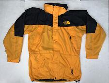 Vintage 90's The North Face Mountain Light Jacket Size Mens Medium Yellow Black