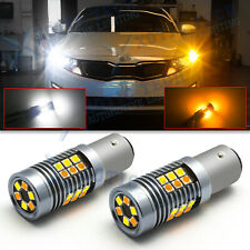 LED Color Changing 1157 2357A Parking Light Turn Signal Light Bulb for Kia Chevy