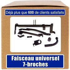 Peugeot 806 94-02 Attelage fixe+faisceau 7-broches uni.