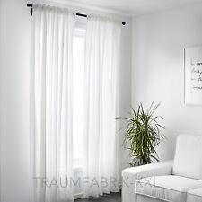 IKEA Vivan Gardinen Vorhänge 145 X 300 Cm weiß