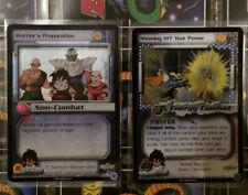 Warrior's Preparation Showing Off Your Power Gohan Season 1 DBZ CCG Score Card Z