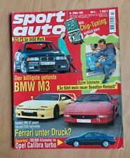 Sport Auto 3/1995 - BMW M3 - Venturi 400 GT - Ferrari 355 - Volvo 850 T-5R -