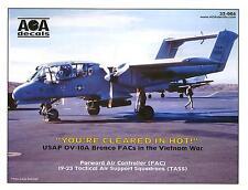 AOA Decals 1/32 U.S.A.F. OV-10A BRONCO FACs in the Vietnam War