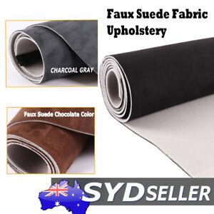 Foam Suede Fabric Marine  Auto Upholstery Headliner Trunk Dash Seat Door Lining
