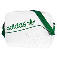 ADIDAS AIRLINER PERF BAG TASCHE WHITE GREEN ORIGINALS UMHÄNGETASCHE AB2781