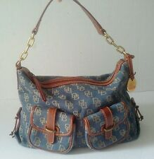 Dooney and Bourke Denim Hobo Pre-Owned