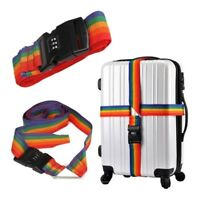 Adjustable Suitcase Strap Buckle Luggage Tight Belt Protective Fix Durable Nylon