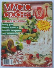 Magic Crochet Magazine - April 1986 - Number 41