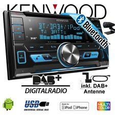 Kenwood DPX-7000DAB - 2DIN Bluetooth DAB+ Digitalradio USB CD Autoradio Antenne