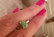 Parabia Tourmaline Sterling silver ring size 0