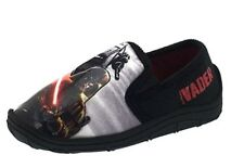 Ragazzi Star Darth Vader LIGHT Wars fino SPADA LASER Pantofole Pantofola completo UK 7 EU 24