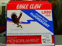 Eagle Claw ECCBF-6 6Lb Test Easy Cast Classic Line 300 Yards 7318