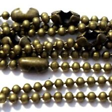 10 Necklaces - 1.5mm ball Chain Necklaces - 18 inch length - Various Colour