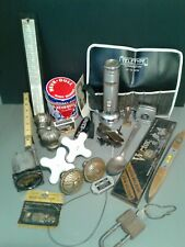 Junk Drawer Automotive, Tools, Tape measure, FlashLight, Other Vintage Items