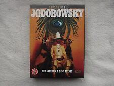 Alejandro Jodorowsky DVD Boxset RARE R0-COMPLETE WITH BOOKLET/ARTCARDS-DISCS LN