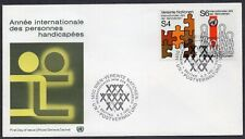 United Nations 1981 - Wien - International Year of Disobled Persons - FDC