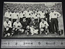 BERLIN 1936 JEUX OLYMPIQUES OLYMPIC GAMES FOOTBALL ÖSTERREICH AUTRICHE FUSSBALL