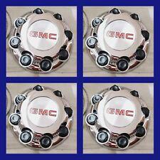 "4PCS  GMC Sierra Yukon VAN 1500 2500 3500 16"" Wheel  Center Caps Hub 8 LUG CAPS"