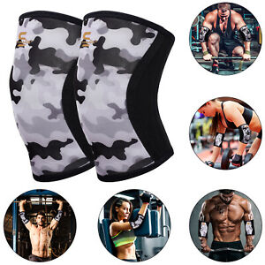 SAWANS® Elbow Sleeves Squat Support Compression Powerlifting Weight Lifting Pair