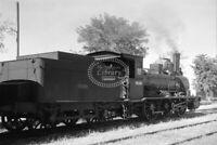 PHOTO RENFE Spanish Railways Steam Locomotive Class 230 030 2087 Loz Vallez 1957