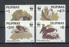 Philippinen  2038 - 41  WWF    Vögel - Birds  **  (mnh)
