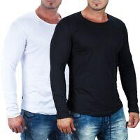 Redbridge Herren Langarmshirt Longsleeve Freizeit Streetwear Shirt by Cipo Baxx