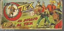 TEX STRISCIA IV° SERIE - 1 / 24 COMPLETA  - IL FIGLIO DI TEX - ORIGINALE