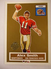 2005 Topps Turn Back the Clock Alex Smith Rookie Card  #16  RC