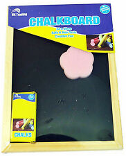 BLACKBOARD CHALKBOARD MENU HOME SCHOOL OFFICE KITCHEN 23x30cm WITH CHALK&ERASER