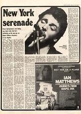 Bruce Springsteen New York Serenade MM4 Interview 1974