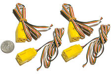 4pc Aurora Turn-Ons Cats Eyes Blazin' Brakes Stop Police! 4-WIRE CONTROLLER PLUG