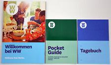 Weight Watchers - Starter Set: Willkommen bei WW + Pocket Guide + Tagebuch 2019